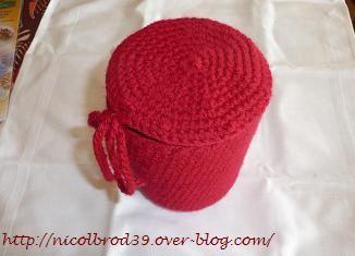 Pot crochet 1