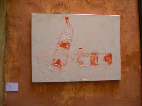 Exposition lili-oto Modulation pixels espace-temps Languedoc Roussillon. installation artistique art contemporain, biotope art video, exposition de peintures chimère ethnologie de l'insignifiant, suspension