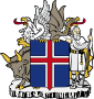 85px-Coat of arms of Iceland svg
