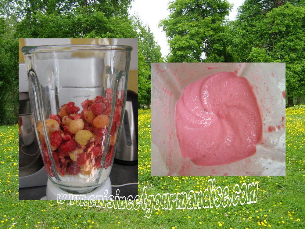 *Mousse aux deux framboises* www.cuisineetgourmandise.com