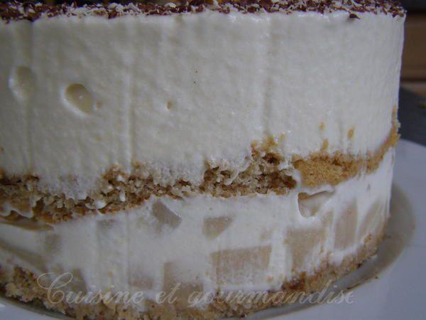 Un panaché de deux délicieuses recettes *Dacquoise/Tiramisu*