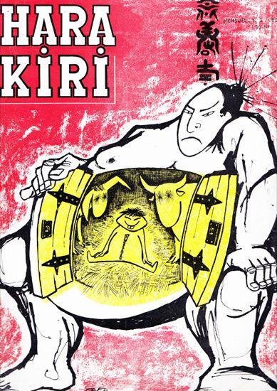 1mensuel HARA-KIRI N°3 déc. 1960