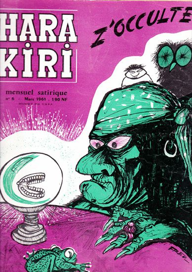 1mensuel HARA-KIRI N°6 mars 1961