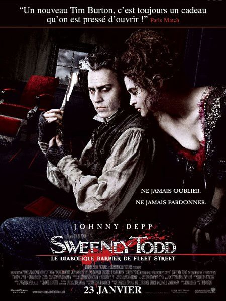 Sweeney Todd : the Demon Barber of Fleet Street*****