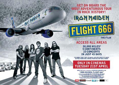 [critique] Iron Maiden : Flight 666
