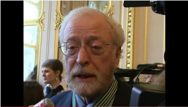 Michael Caine Medaille