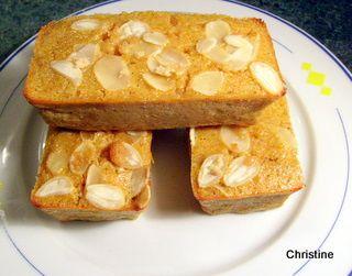 Châtaignes fondantes Mini-gâteaux, butternut ET amandes