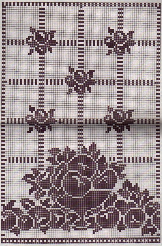 Crochet Les Rideaux De Cuisine La Boutique Du Tricot Et Des