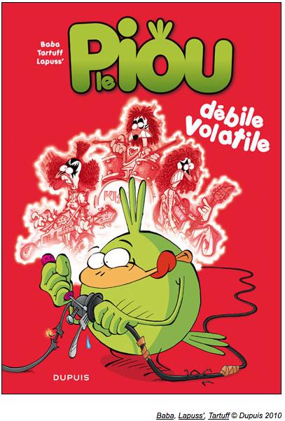 Voici la couverture du tout premier album de chaque bande dessinée.