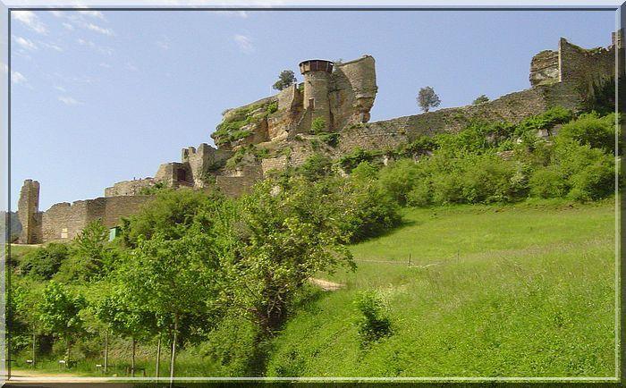 Aviez vous déjà vu un château aussi curieux ?