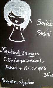 L'Ardoise sushi
