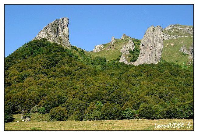 vallée de chaudefour - dent de la rancune- cornes du diabl