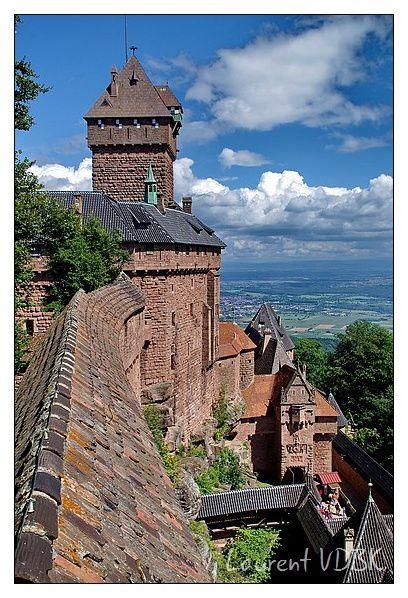Alsace - Château du Haut Koenigsbourg - 0005b