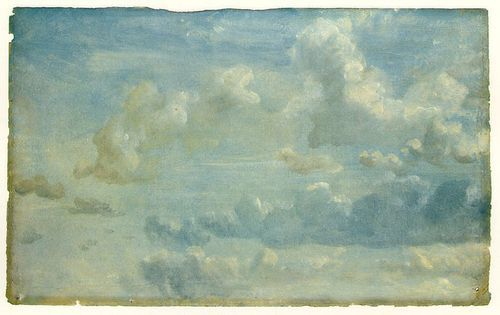 Constable cloud study 1822