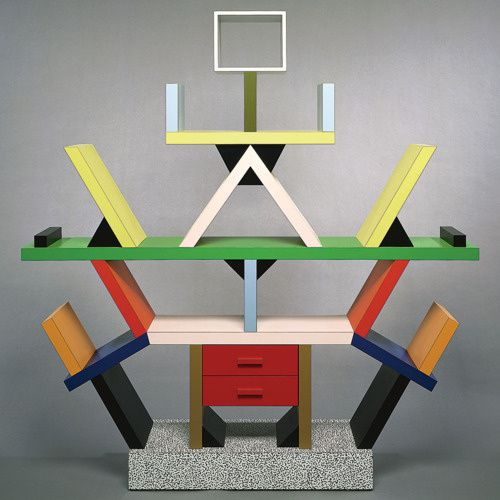 ettore Sottsass Carlton cabinet forMemphis 1981