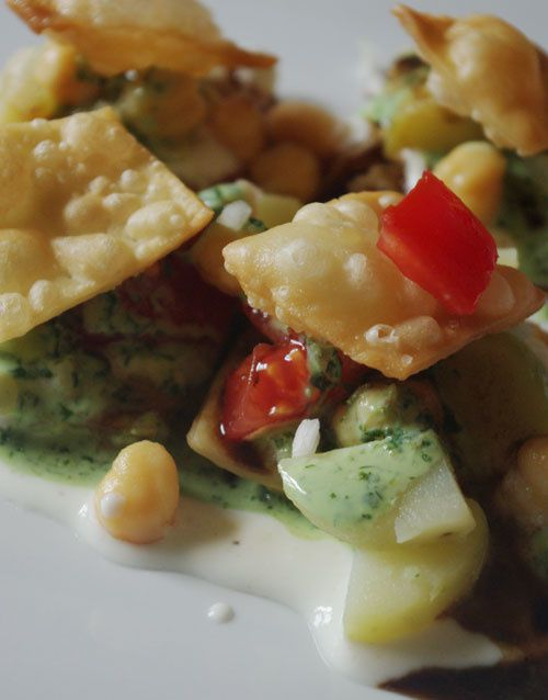 chaat recette indienne