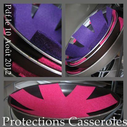 Protege fond casserole