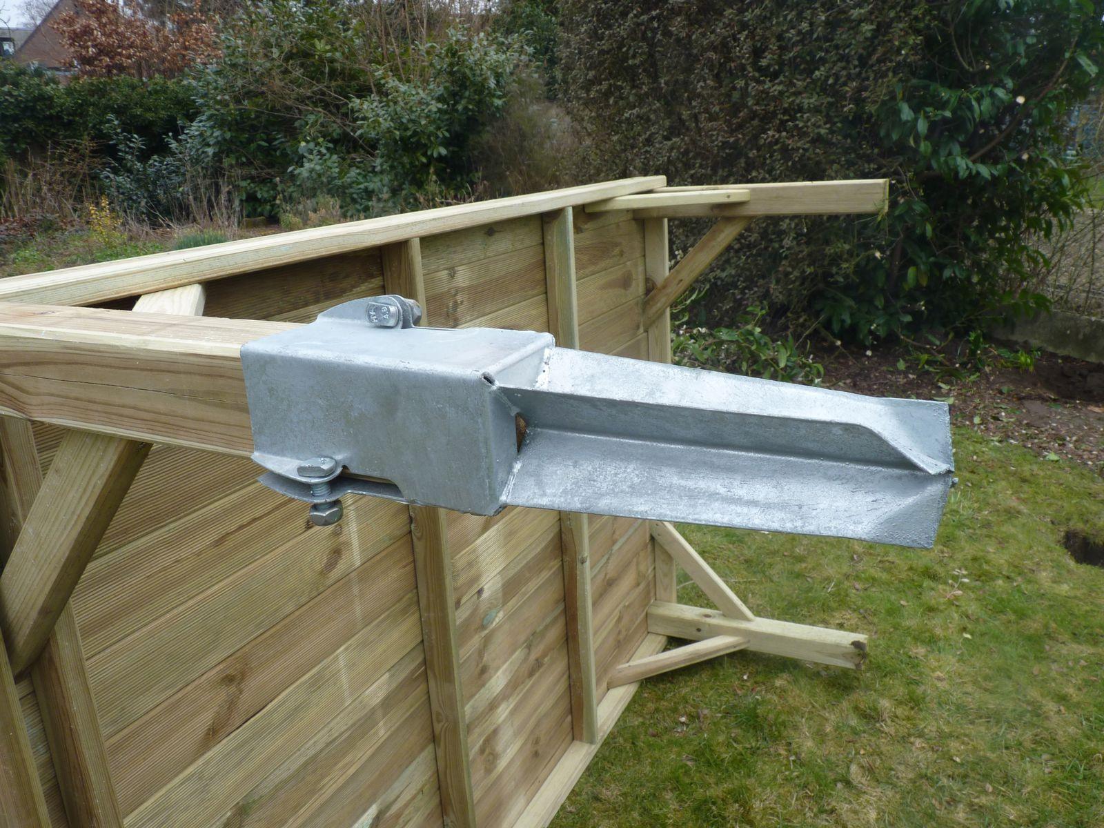 Sur Quoi Poser Un Abri De Jardin etapes photos comment monter 1 cabane en bois sur pilotis