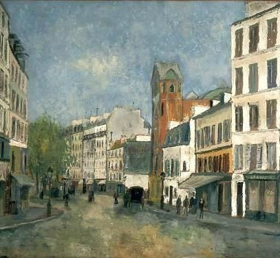 place des abbesses utrillo2