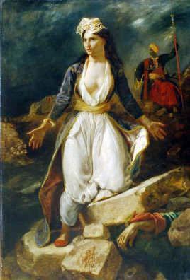 Delacroix la grèce.