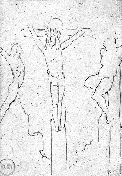 christ et larrons