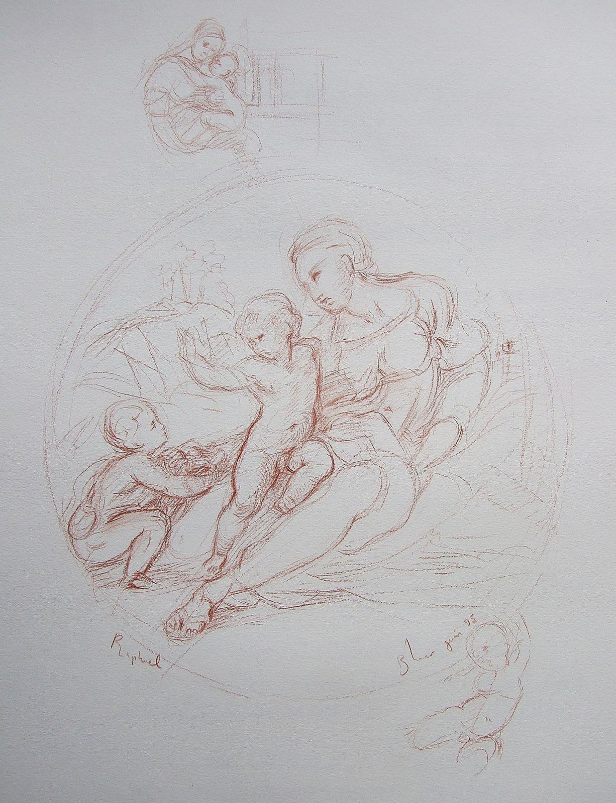 L'étude du savoir-faire des autres maitres-peintres permet de s'améliorer. C'est un travail important et nécessaire. Il accompagne toute ma production.