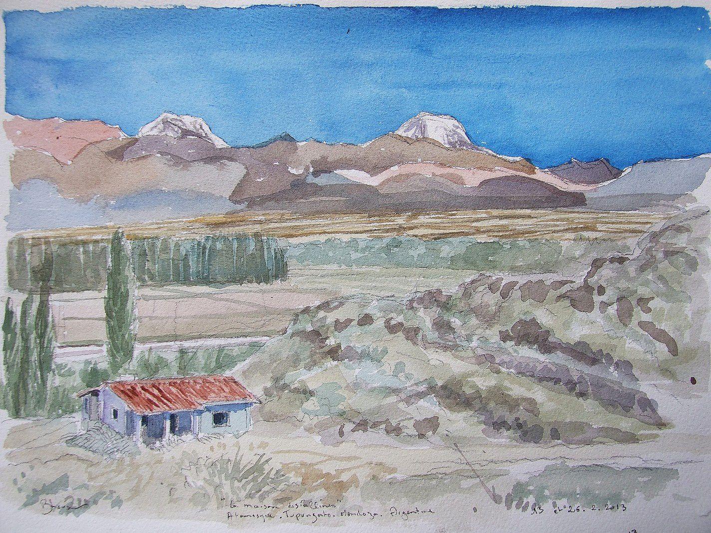 Atamisque aquarelle 22x31 11-26 2 13
