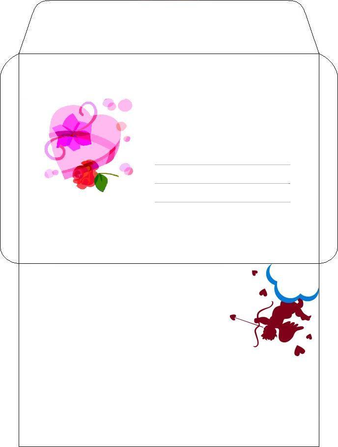 Ideal Enveloppes créatives à utiliser (à télécharger et imprimer) - L  EE82