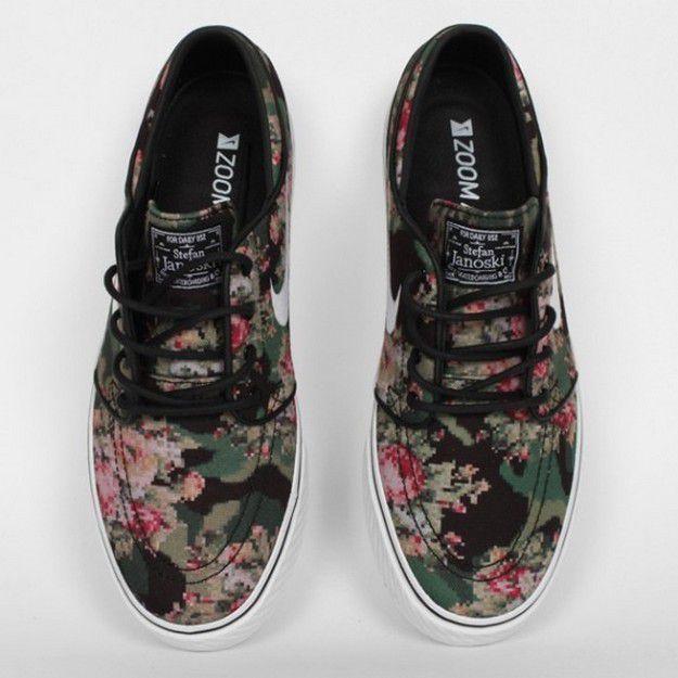 Nike SB Zoom Stefan Janoski Premium Floral Digi 1