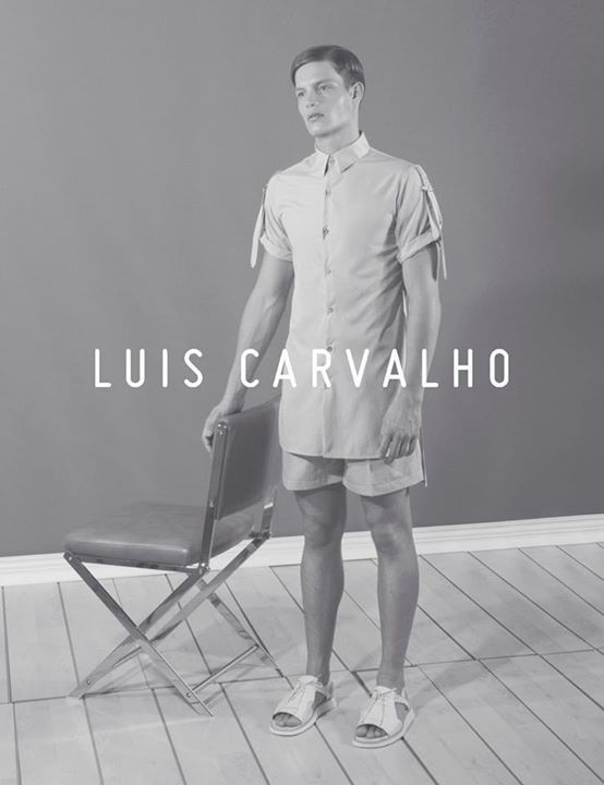 luis carvalho ss15 campaign un formal collection on arcstre