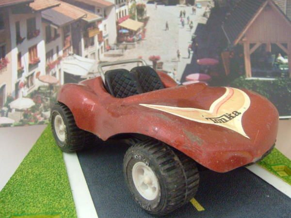 RARE BUGGY MARRON TONKA