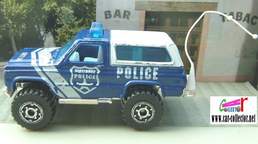 4X4 CHEVY BLAZER MATCHBOX 1983