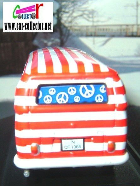 vw combi t2 hippies love and peace schuco tampos us america