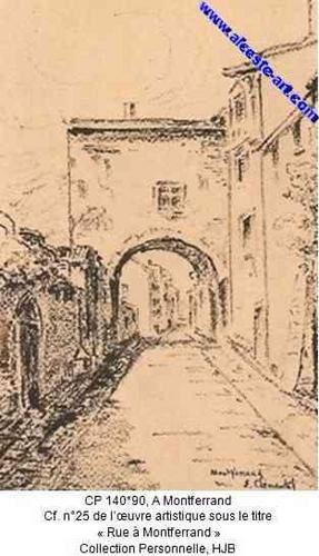 Oeuvres (gravure, peinture, etc) d'artistes ayant un rapport avec la province historique Auvergne (Cantal et Puy-de-Dôme) devenue la région administrative Auvergne par l'adjonction du Bourbonnais et du Velay