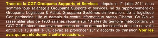 Tract CGT G2S Flash info avis accords transitions