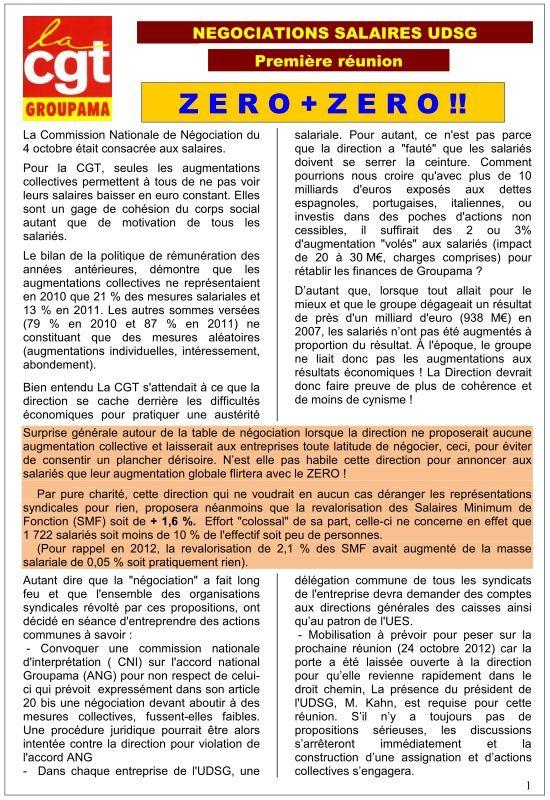 Visu tract CGT négociations salaire 2013 UDSG