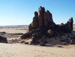 Dans le Hoggar du Tassili en Algérie... 46