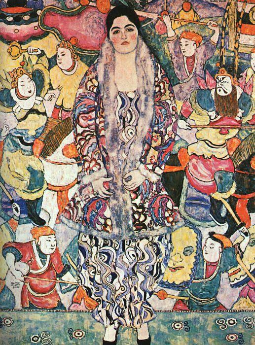 Gustav Klimt se libère progressivement des règles académiques et, inspiré des Arts de Ravenne, des estampes japonaises et du symbolisme, Klimt devient chef de file de la 'Sécession viennoise'...