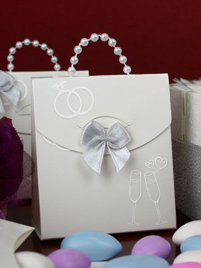 pochettes dragees boites dragees argentees mariage pochettes pour dragees argent mariage