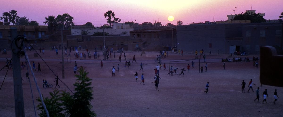 20-Mopti - Mali - vue de l'hotel doux reves