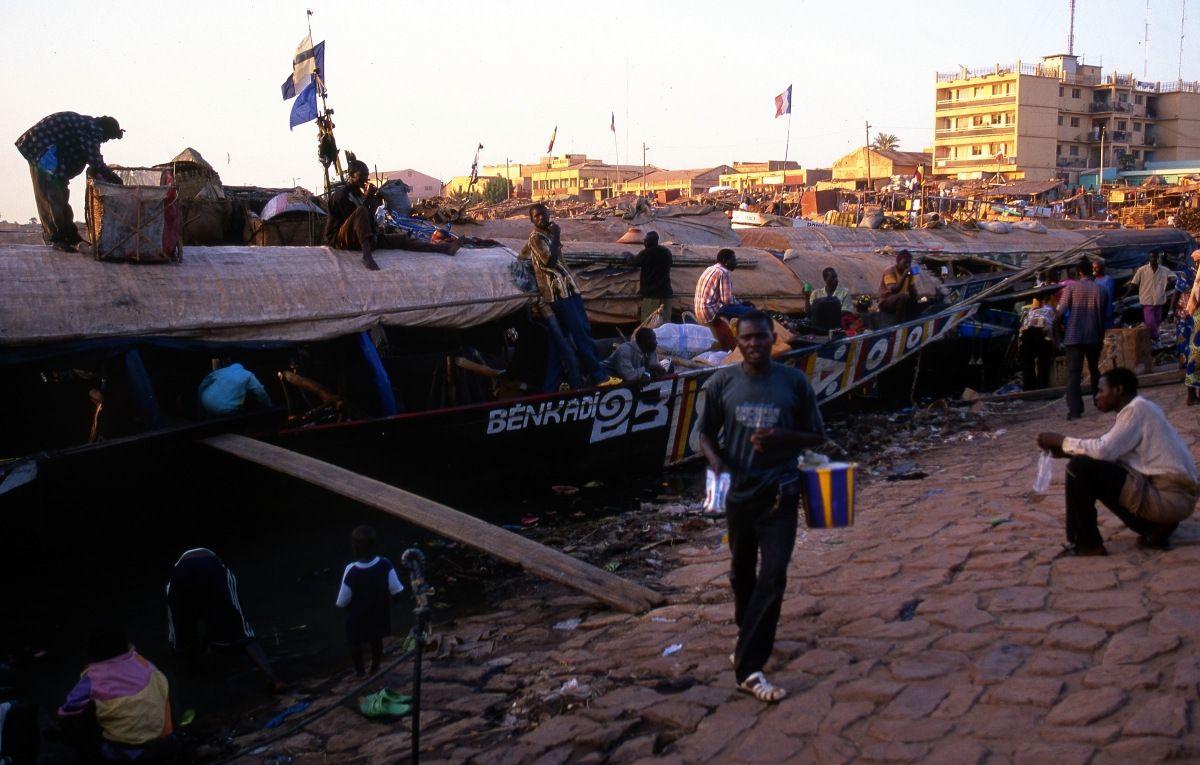 65-Mopti - Mali - Fleuve Niger - Le Port