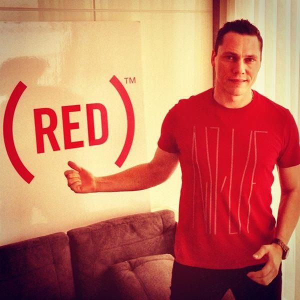 Tiësto @joinRED For Global EDM Event On World AIDS Day