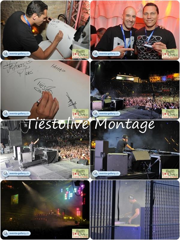 Tiësto photos Electroz'Arenes Avenches Switzerland 31 jul