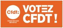Votez Cfdt new logo