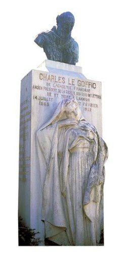 charles-le-goffic-lannion buste jean Boucher