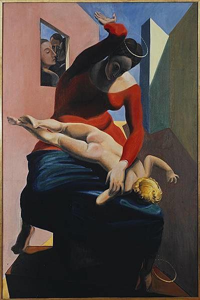 Marie fessant jésus