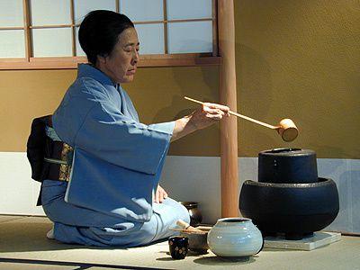 cérémonie du thé Maitre michiko nogiri