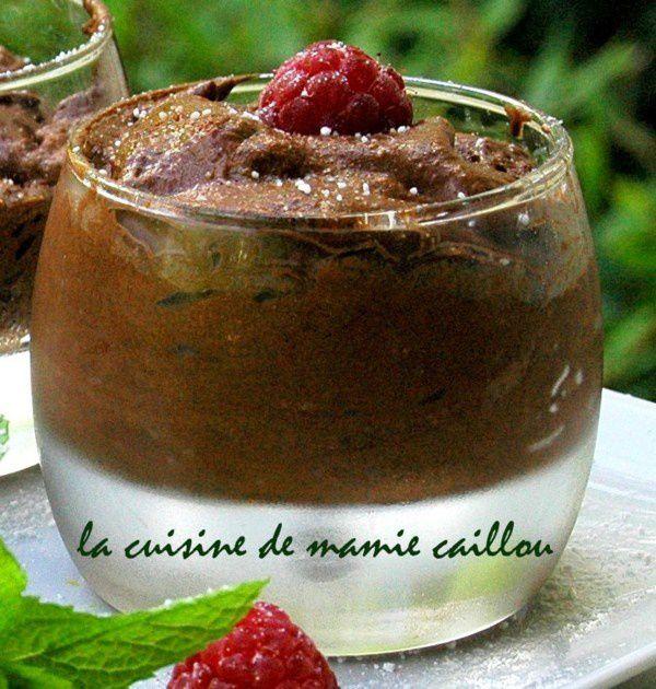 Blog de mariecaillou :LA CUISINE DE MAMIE CAILLOU, Mousse au chocolat
