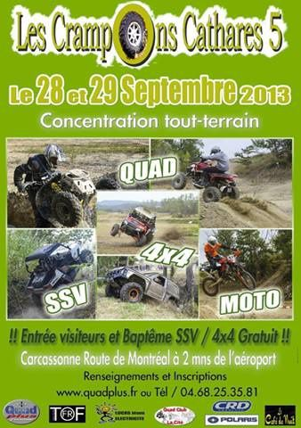 affiche crampons cathare 28-29-09-13