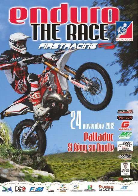 affiche the race 2012